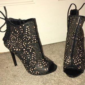 Steve Madden bootie heels